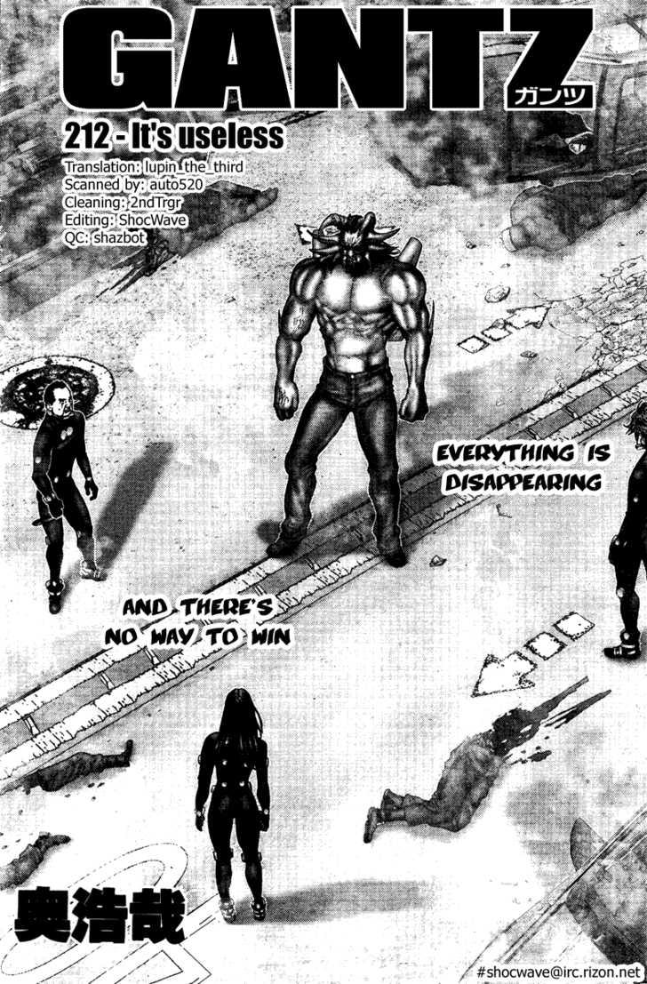 Gantz 212 Page 2