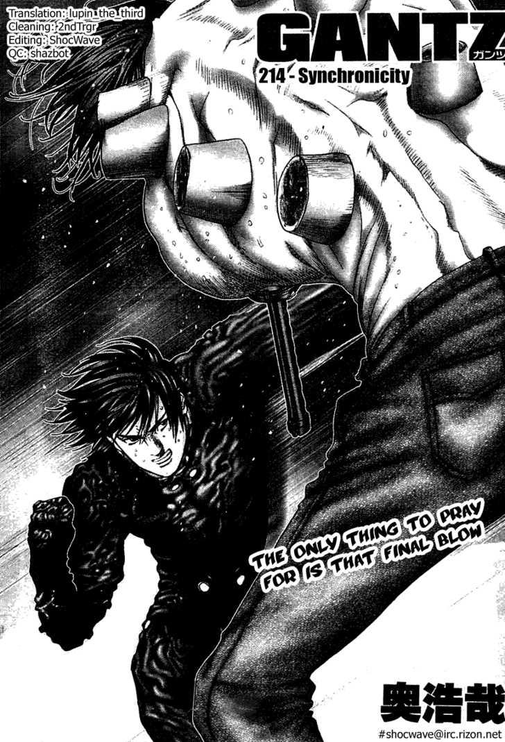 Gantz 214 Page 2