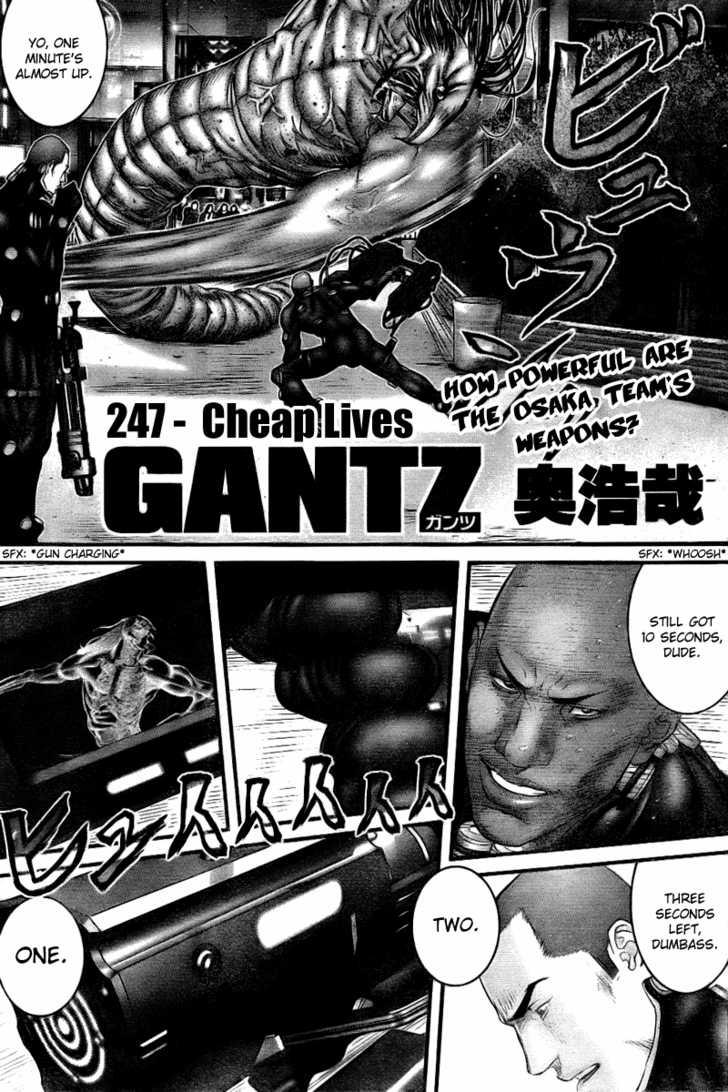 Gantz 247 Page 1