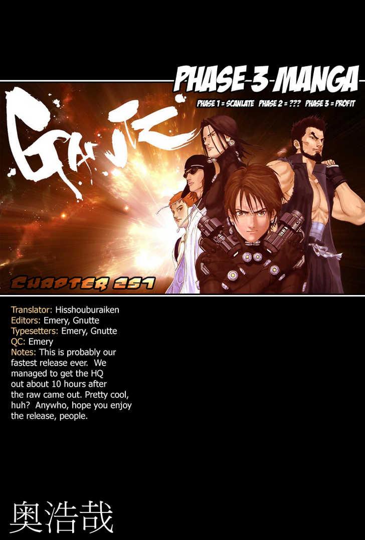 Gantz 257 Page 1