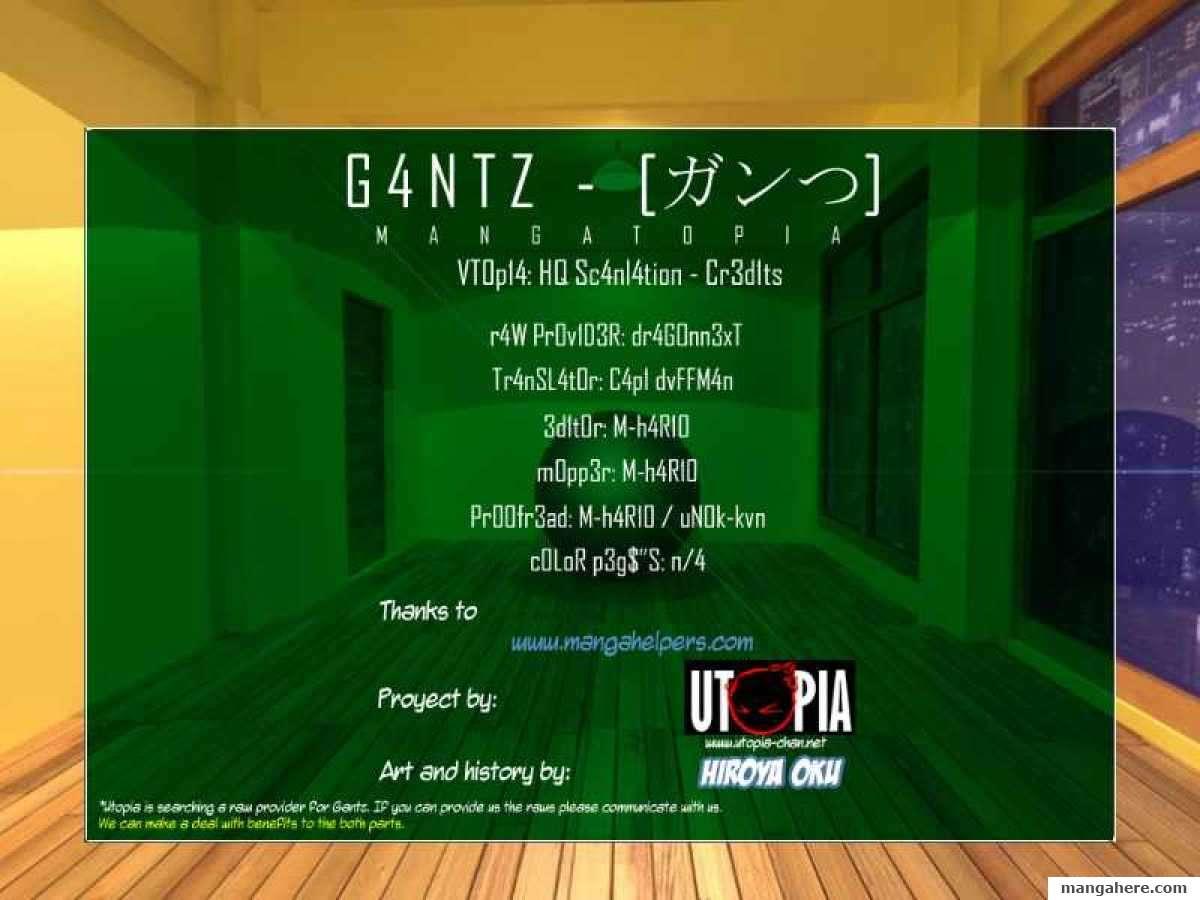 Gantz 318 Page 1