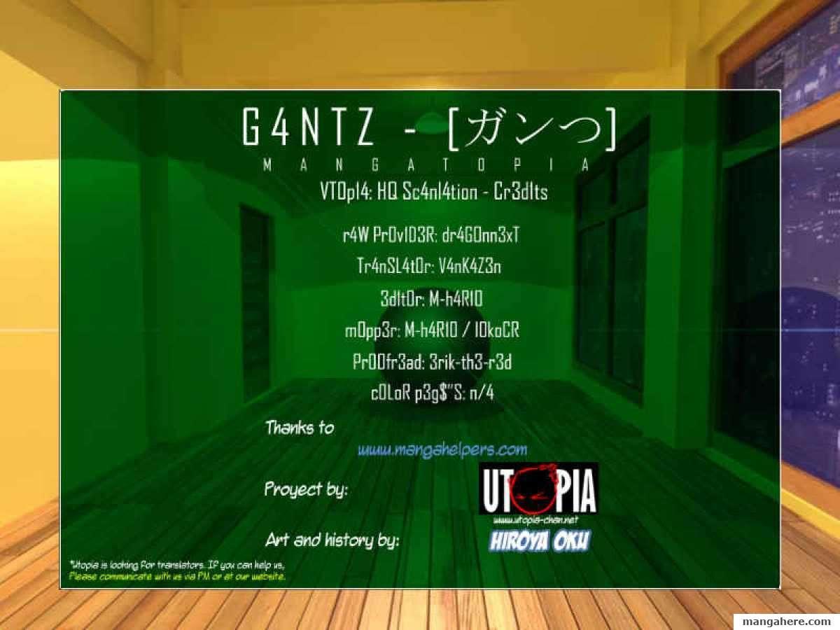 Gantz 320 Page 1