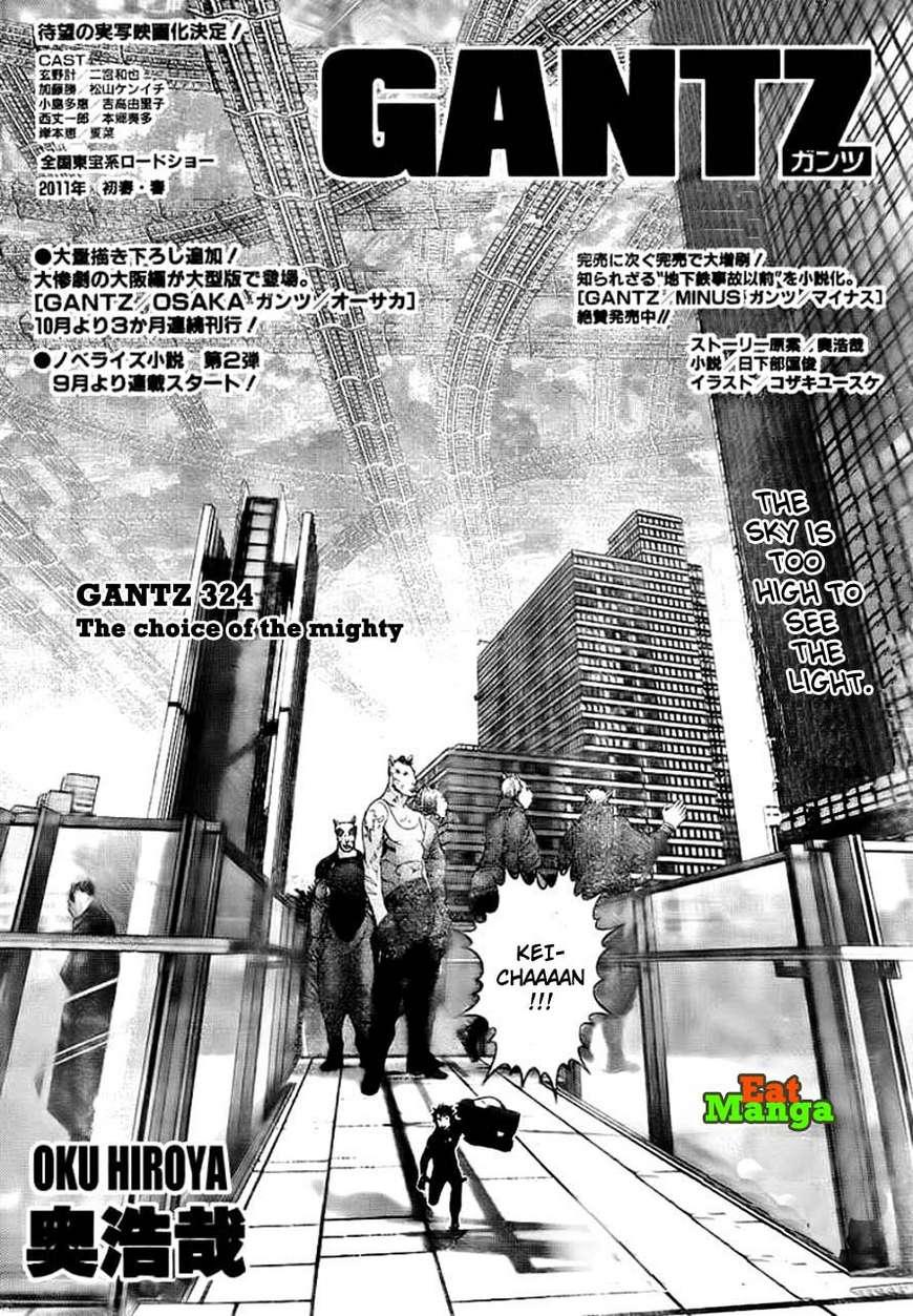 Gantz 324 Page 2