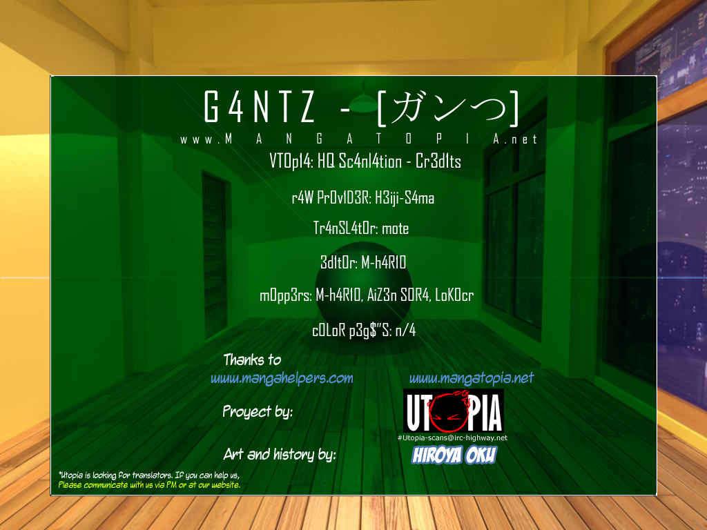 Gantz 327 Page 1