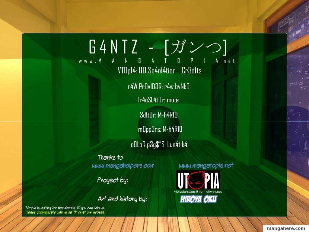 Gantz 328 Page 1