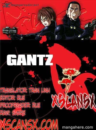 Gantz 340 Page 1