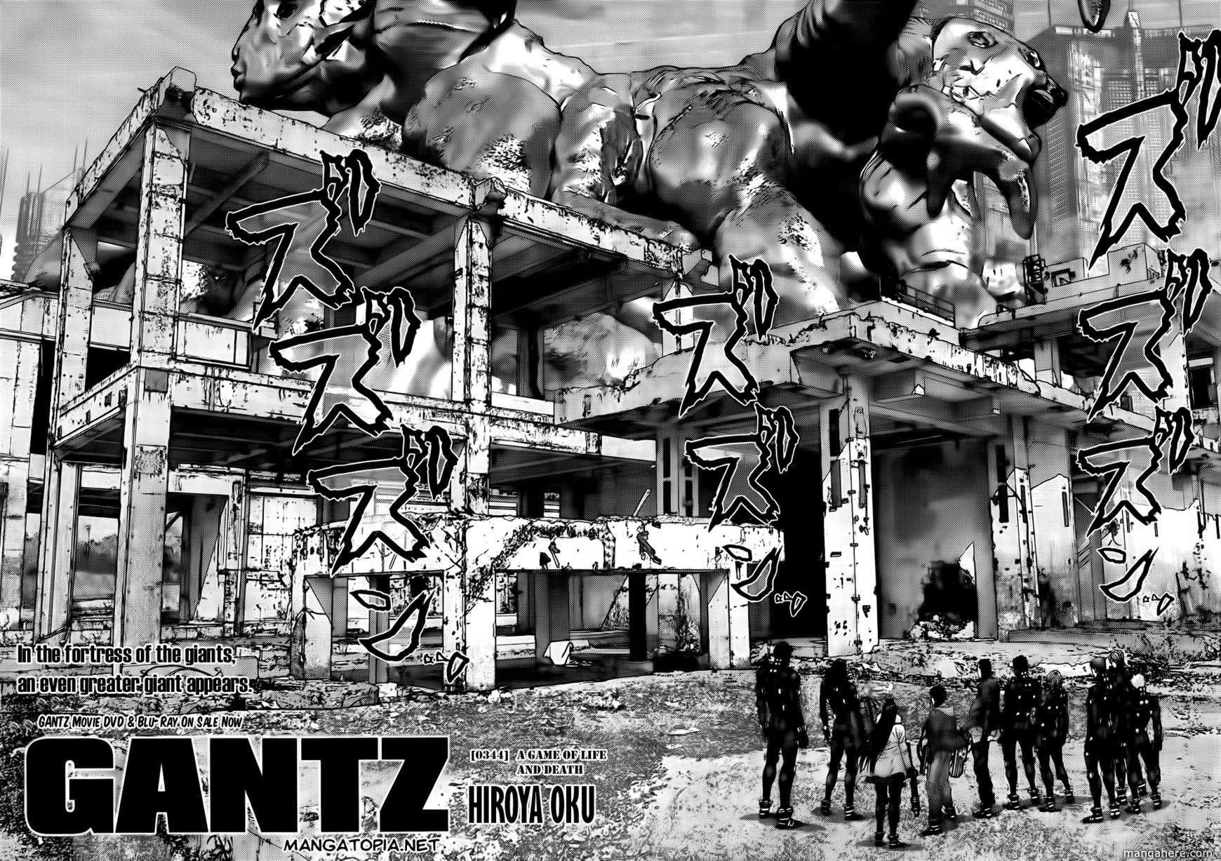 Gantz 344 Page 3