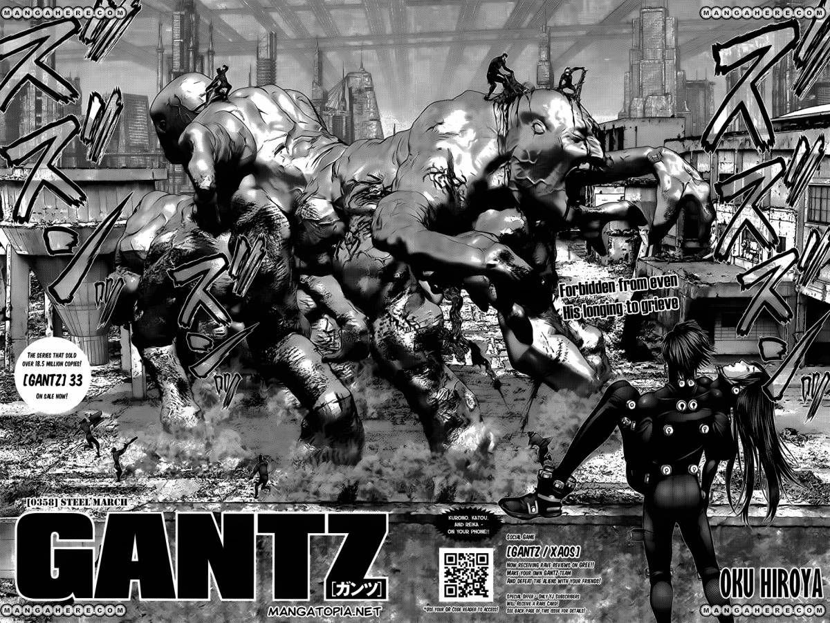 Gantz 358 Page 1