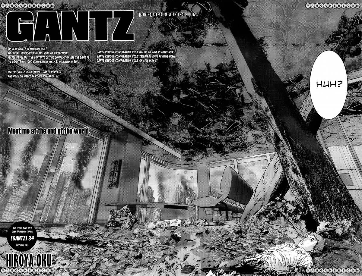 Gantz 362 Page 1