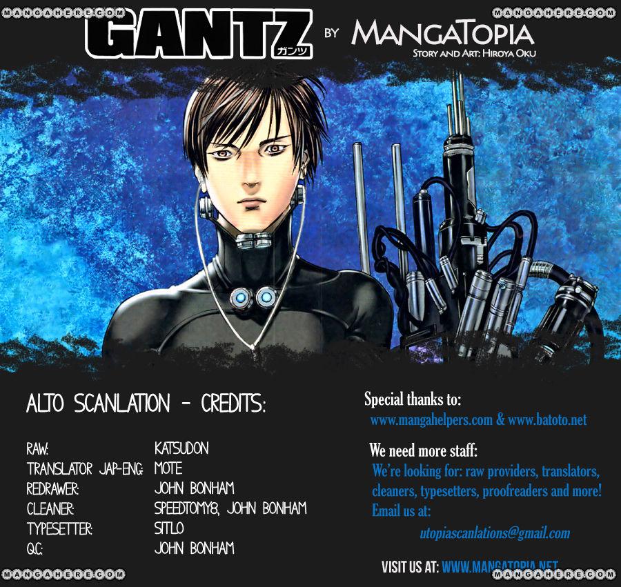 Gantz 363 Page 1