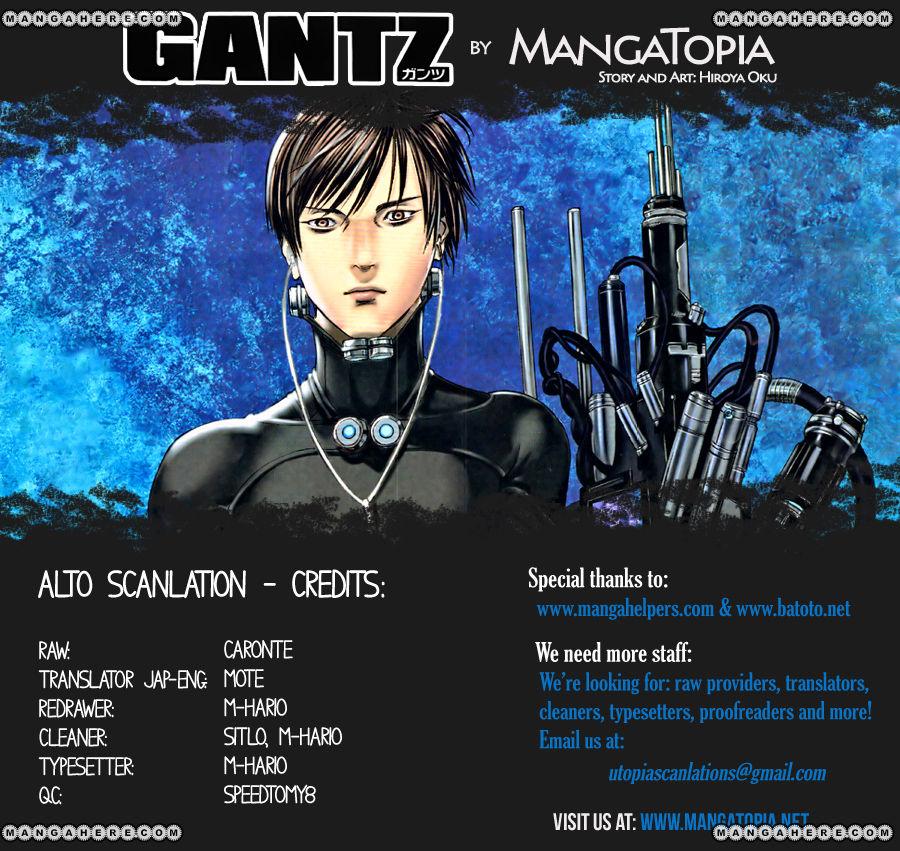 Gantz 369 Page 1