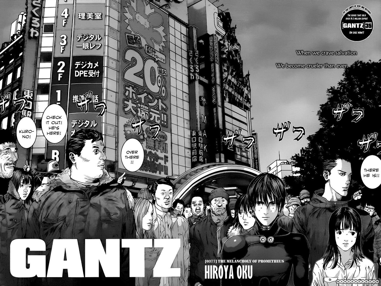 Gantz 377 Page 2