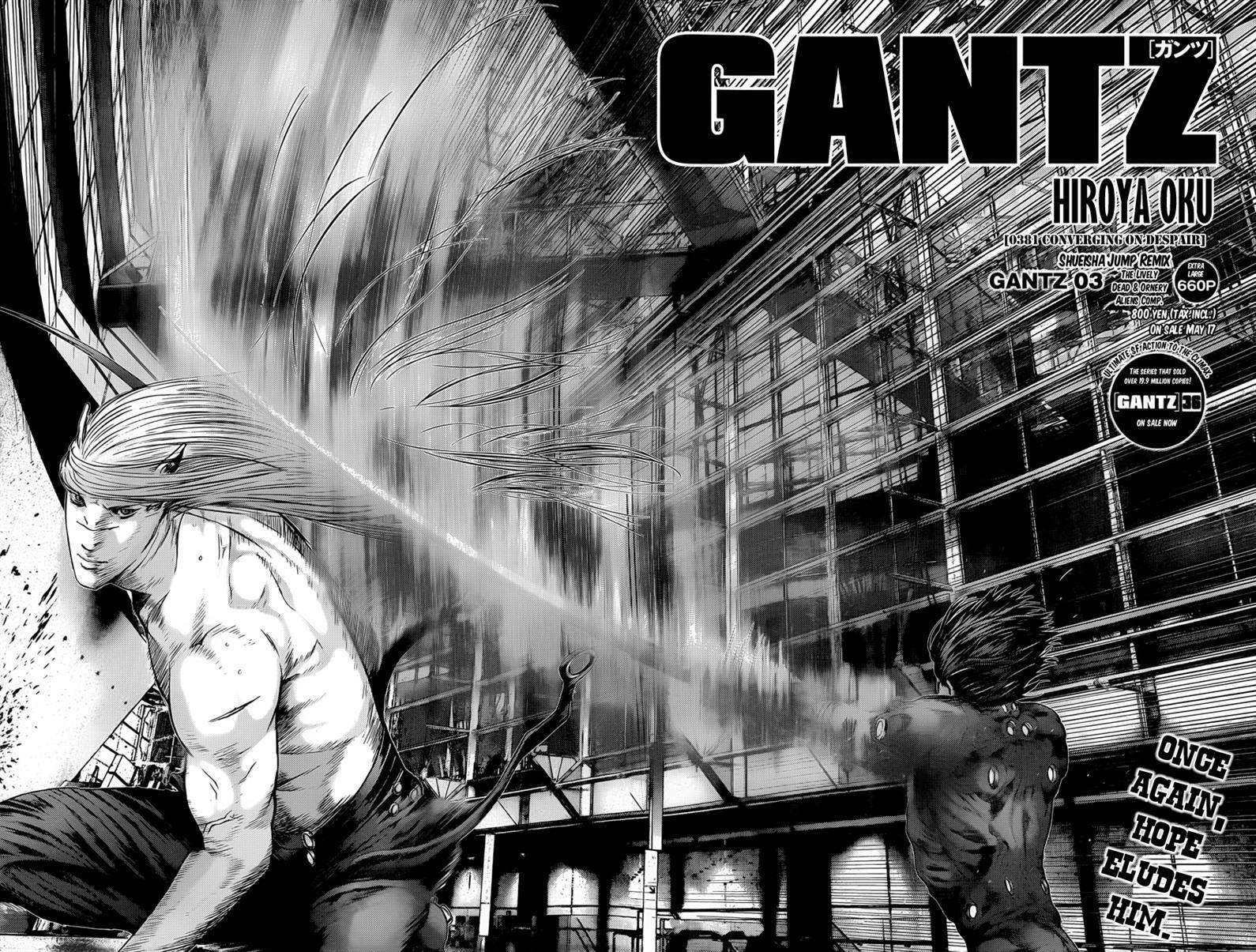 Gantz 381 Page 2