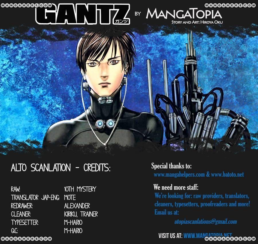 Gantz 382 Page 1
