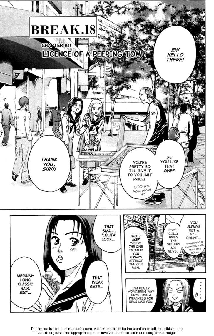 Psychometrer Eiji 101 Page 1