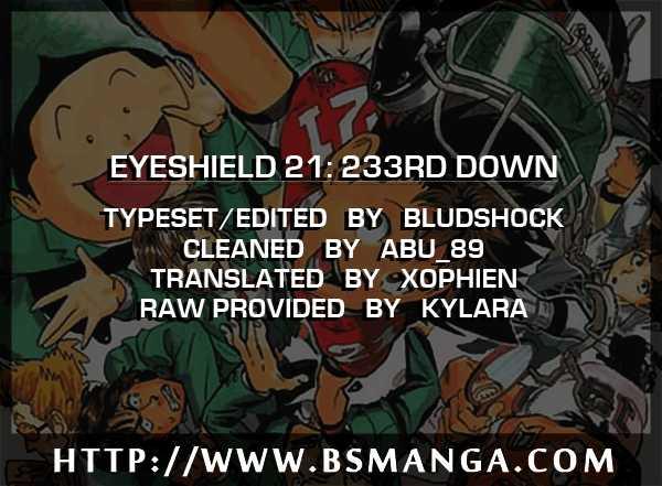 Eyeshield 21 233 Page 1