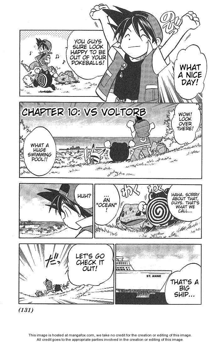 Pokemon Adventures 10 Page 1