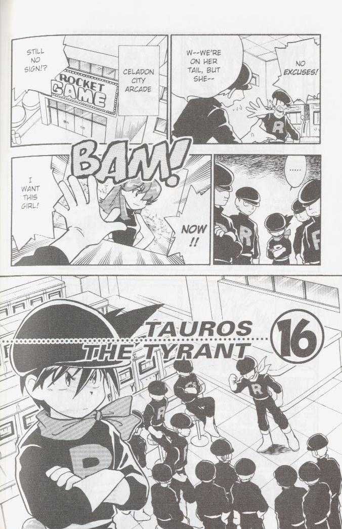 Pokemon Adventures 16 Page 1