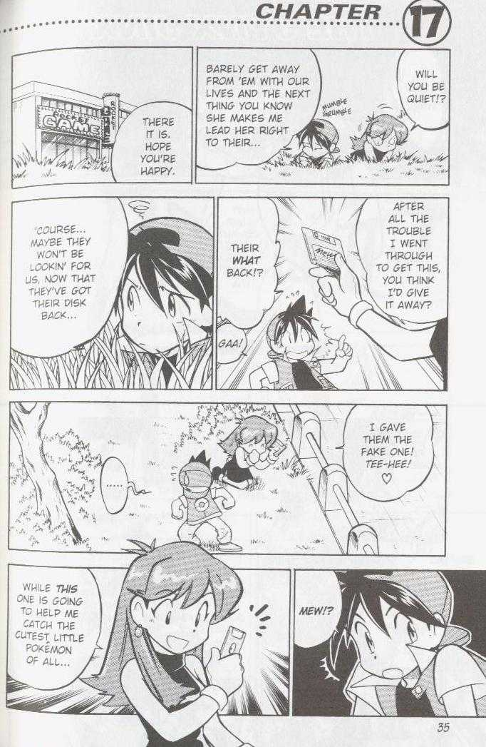 Pokemon Adventures 17 Page 1