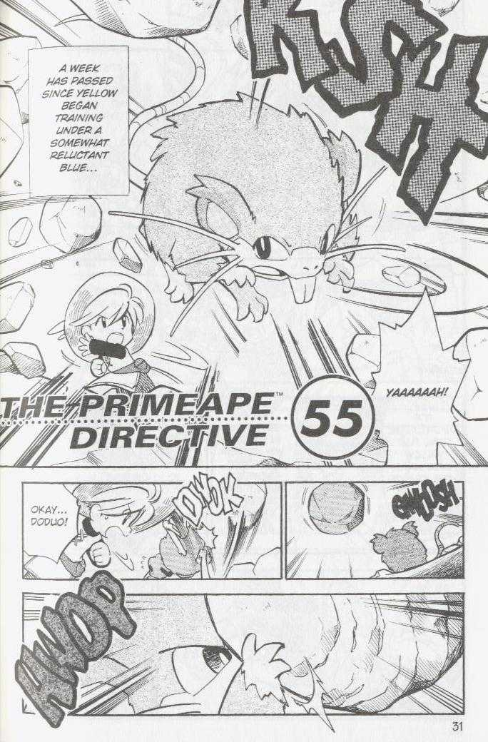 Pokemon Adventures 55 Page 1