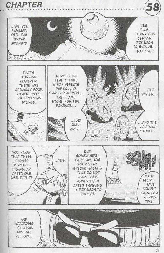 Pokemon Adventures 58 Page 1
