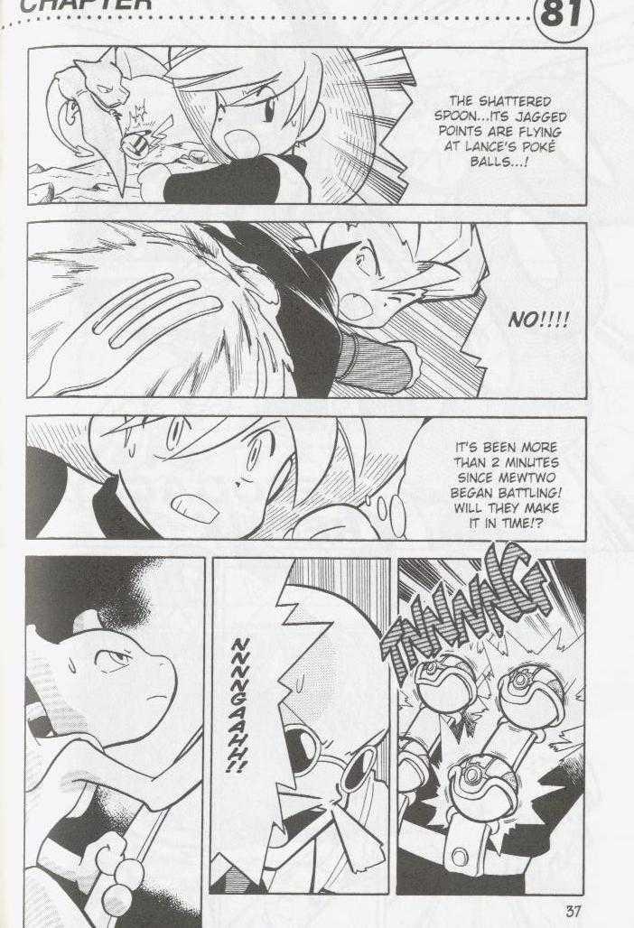 Pokemon Adventures 81 Page 1