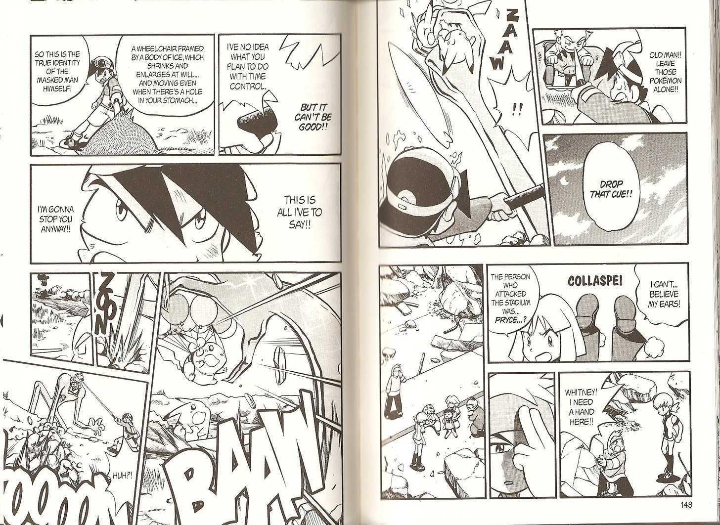 Pokemon Adventures 178 Page 2