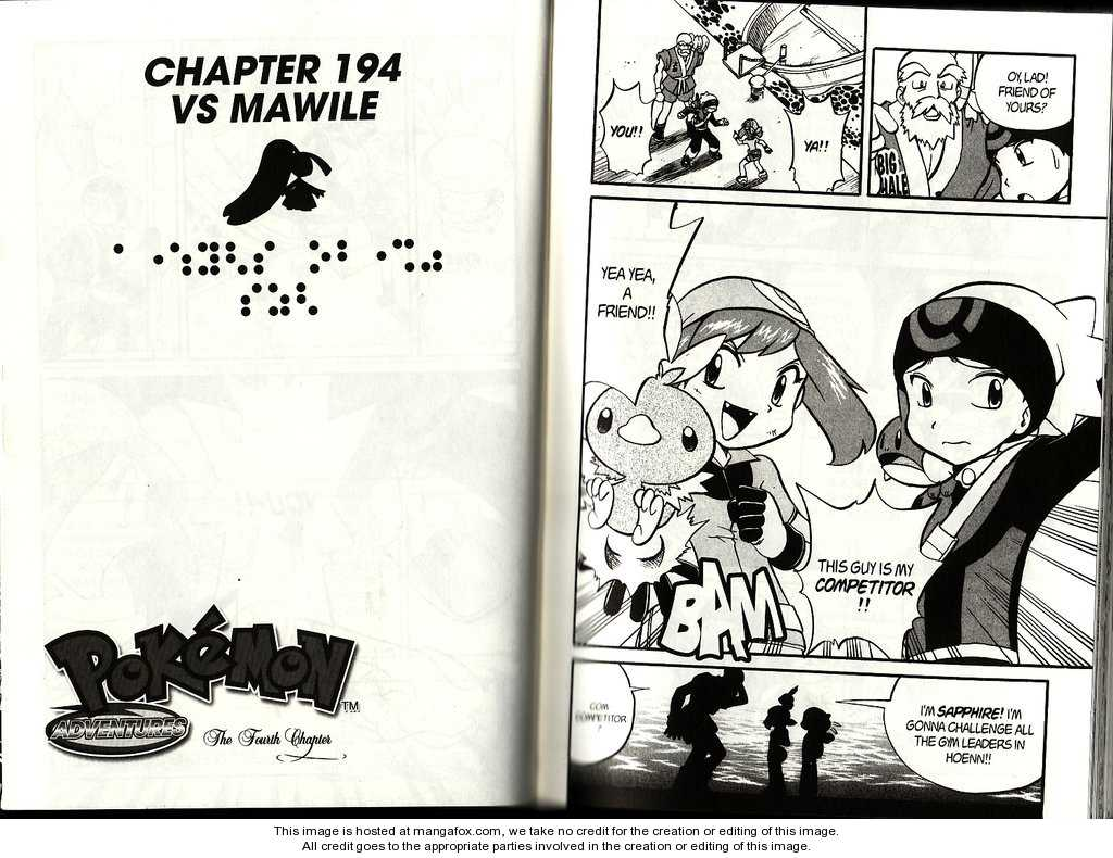 Pokemon Adventures 194 Page 1