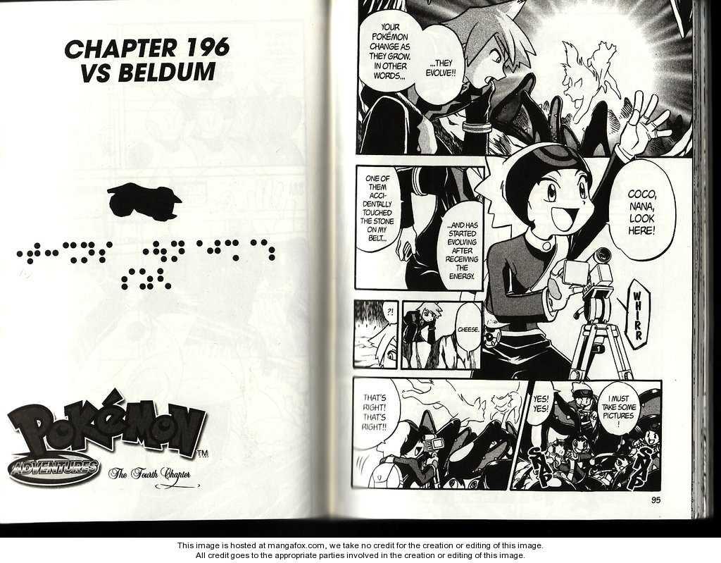 Pokemon Adventures 196 Page 1