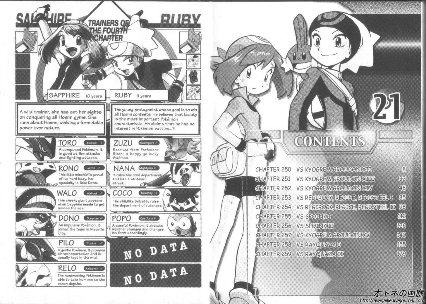 Pokemon Adventures 250 Page 2