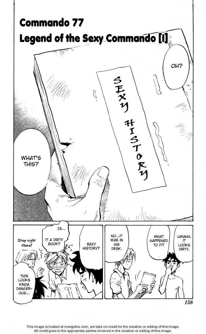 Sexy Commando Gaiden: Sugoiyo! Masaru-san 77 Page 3