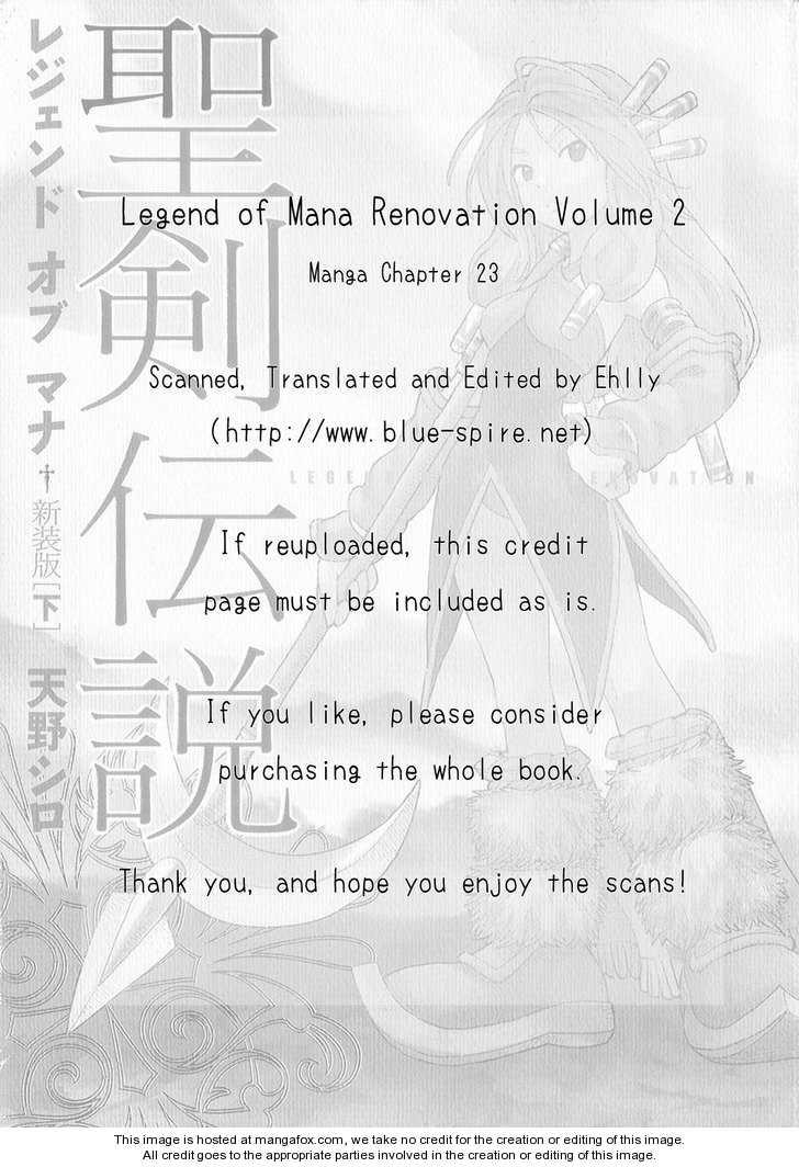 Seiken Densetsu: Legend of Mana 23 Page 1