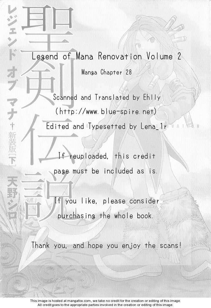 Seiken Densetsu: Legend of Mana 28 Page 1