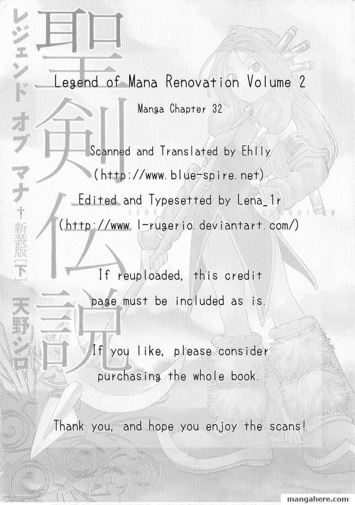 Seiken Densetsu: Legend of Mana 32 Page 1