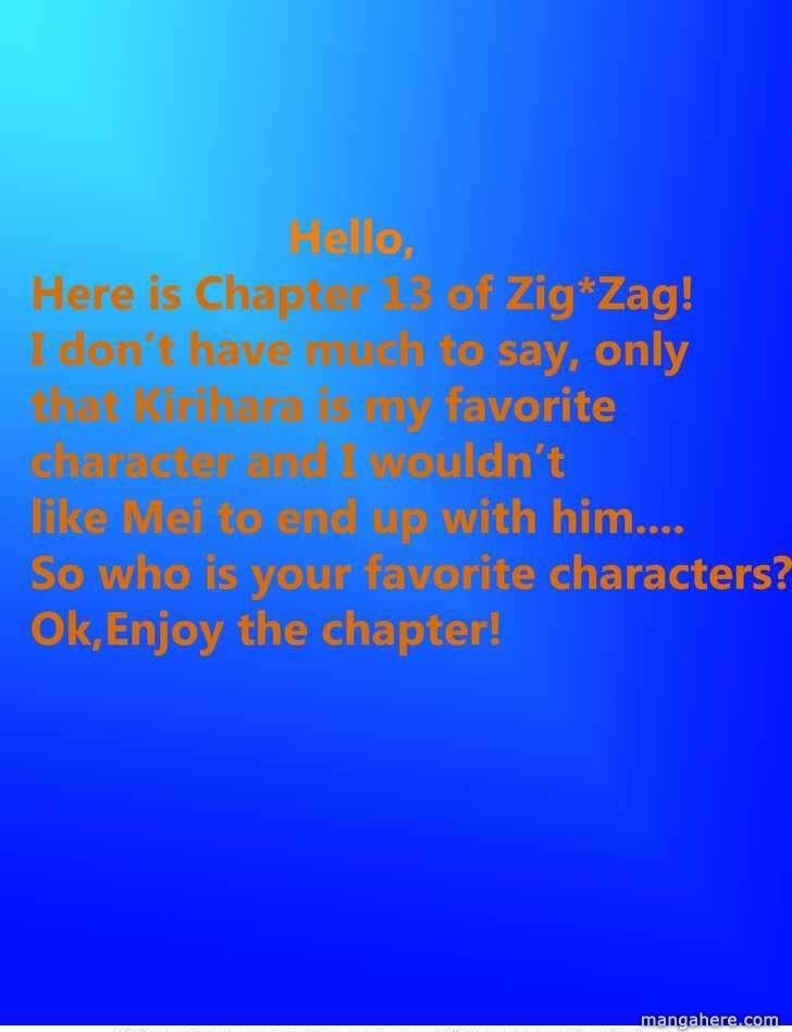 ZIG☆ZAG 13 Page 1