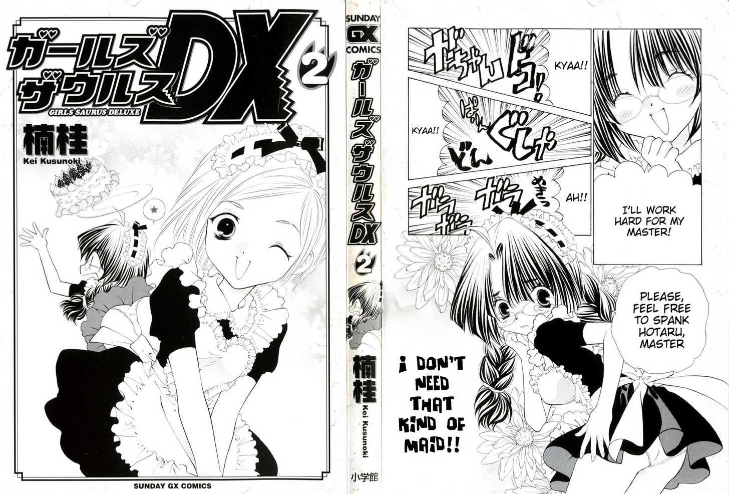 Girls Saurus DX 6 Page 2