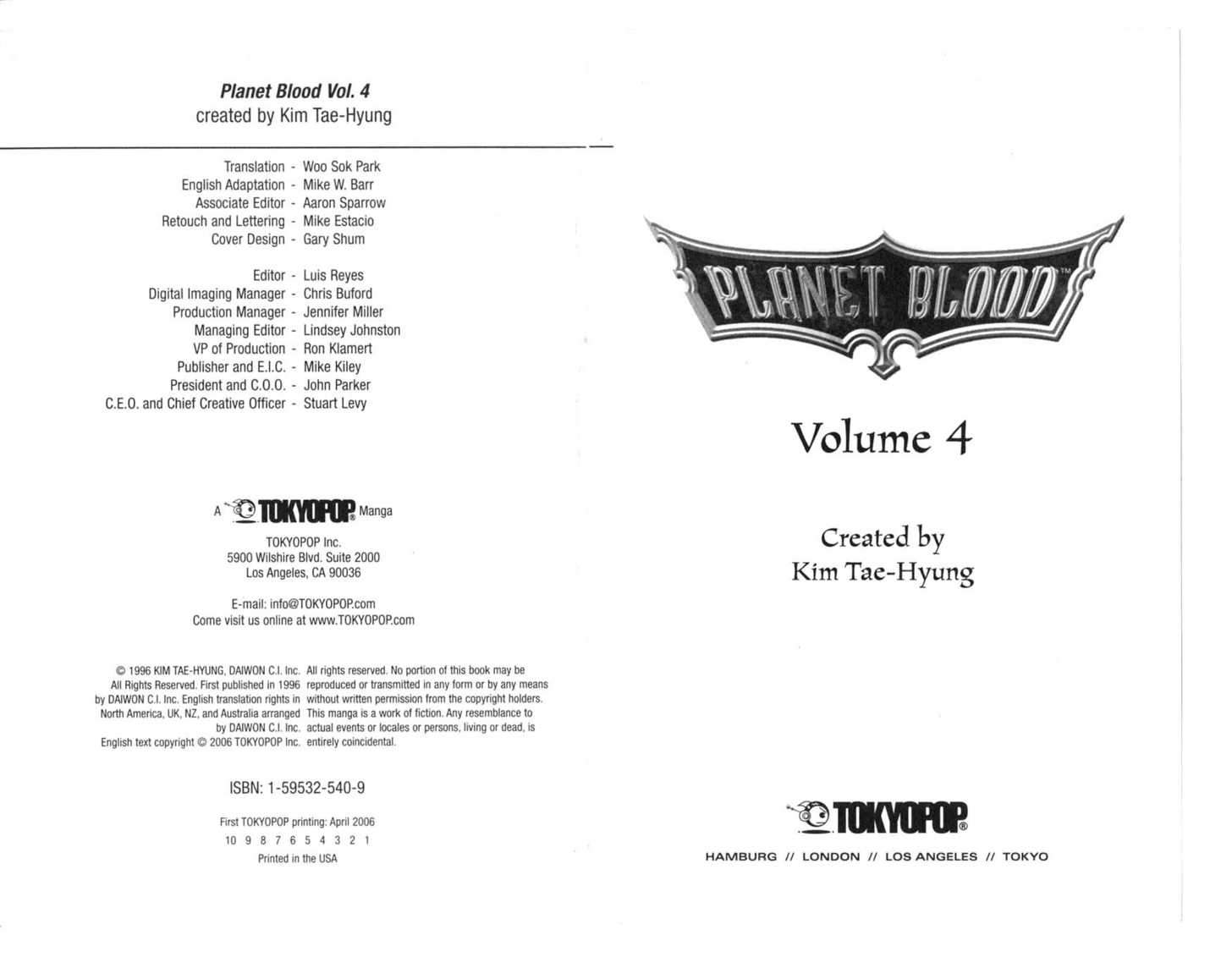 Planet Blood 0 Page 3
