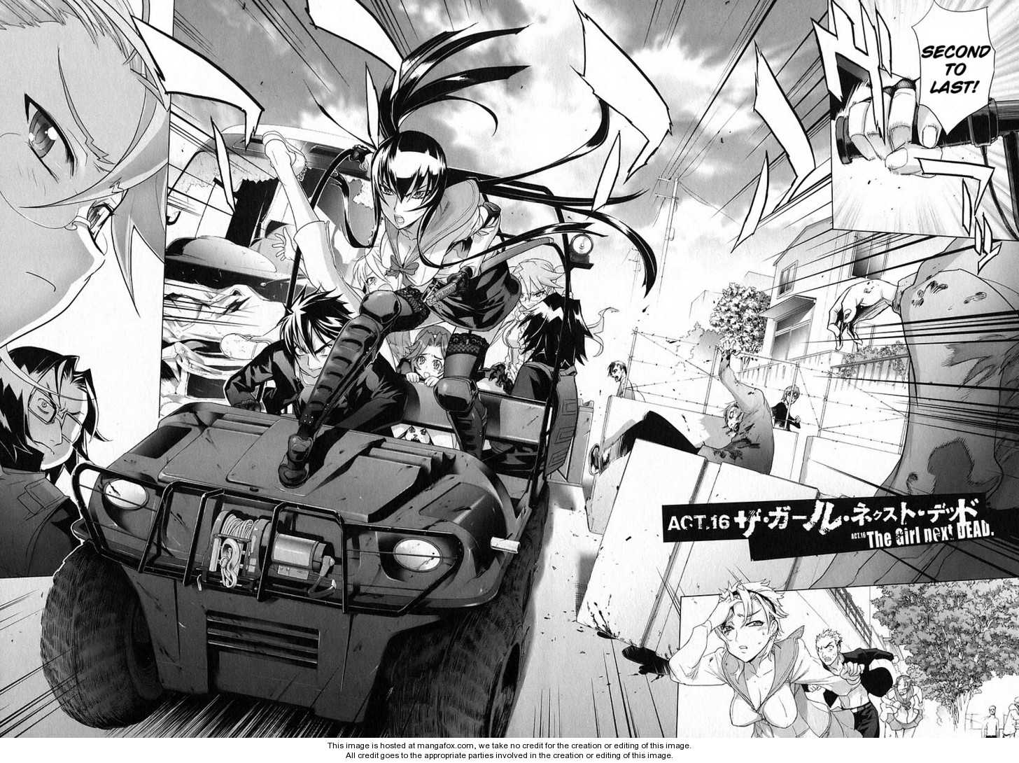 High School of the Dead 16 Page 3