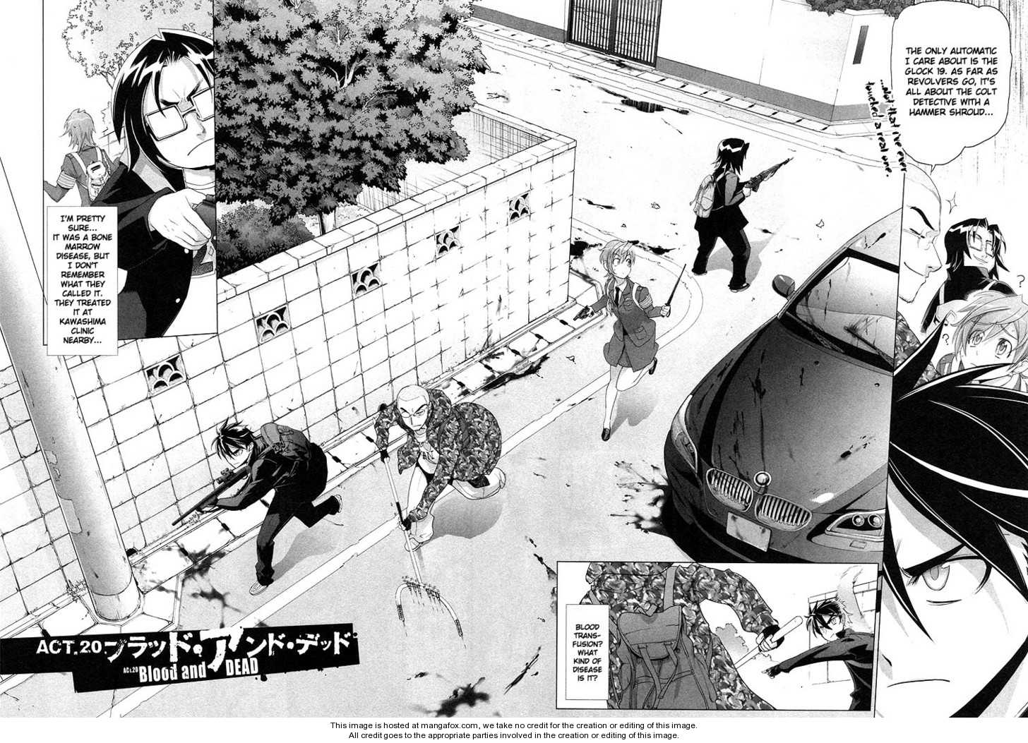 High School of the Dead 20 Page 3