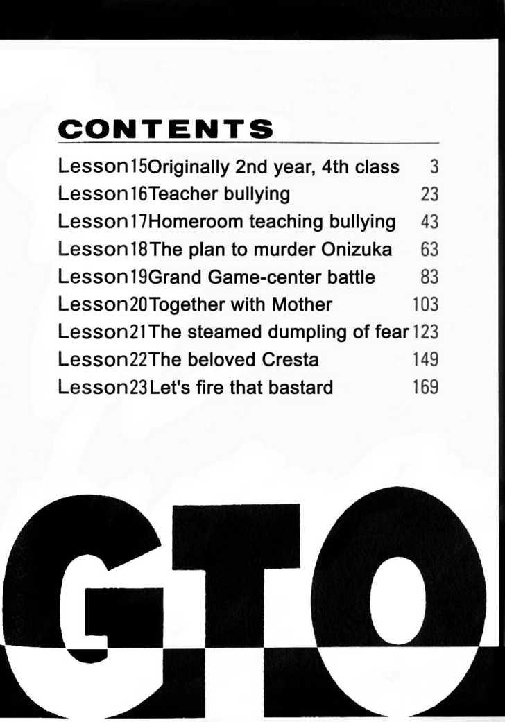 Great Teacher Onizuka 15 Page 2