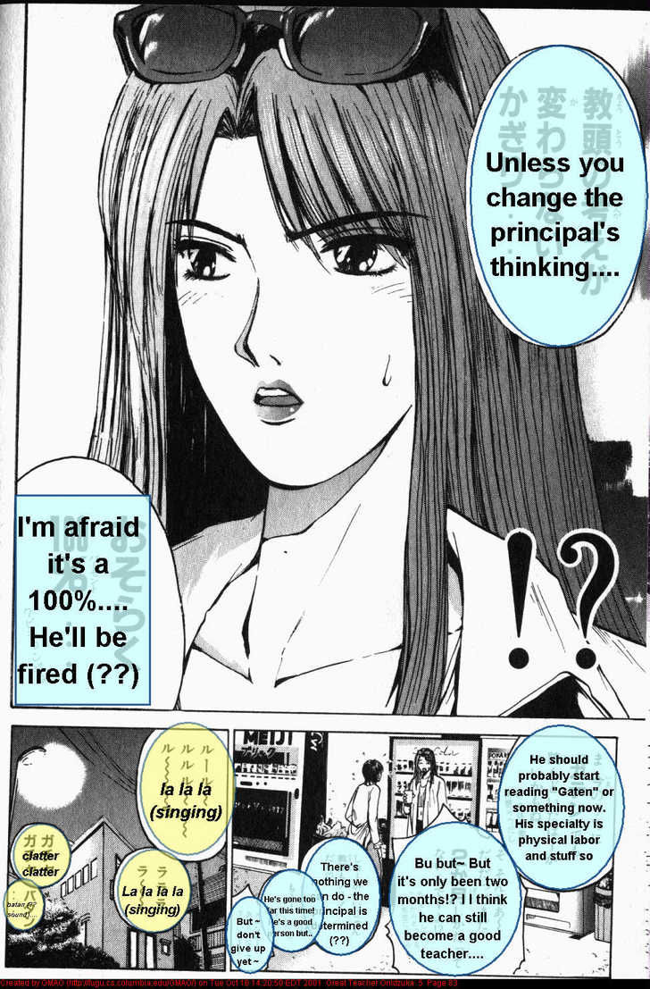 Great Teacher Onizuka 37 Page 1
