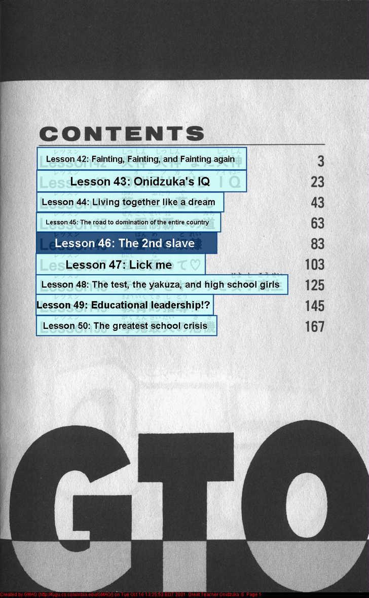 Great Teacher Onizuka 42 Page 2