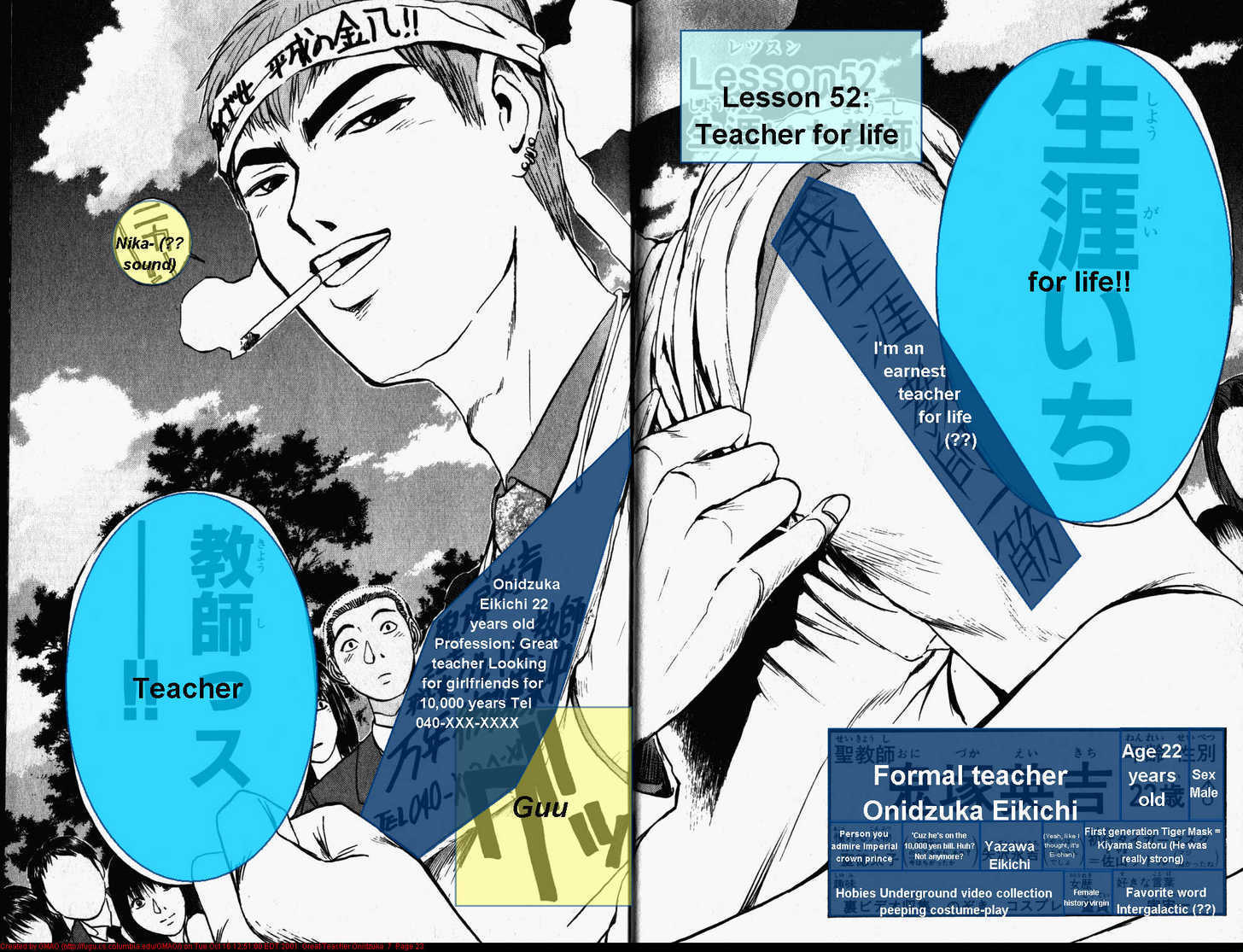 Great Teacher Onizuka 52 Page 2