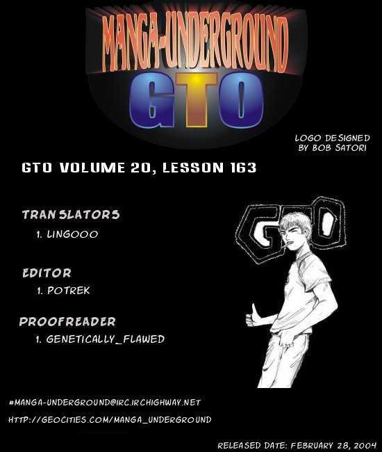 Great Teacher Onizuka 158 Page 1