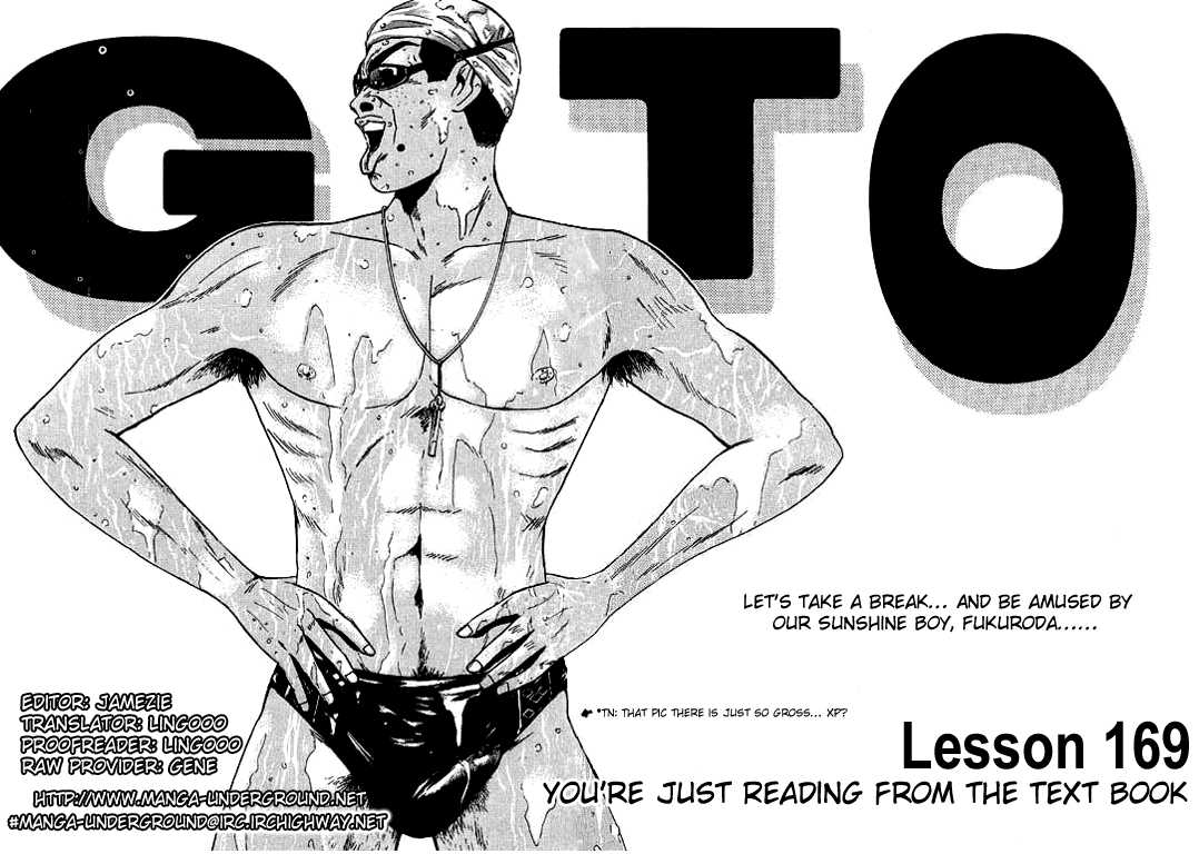 Great Teacher Onizuka 169 Page 1