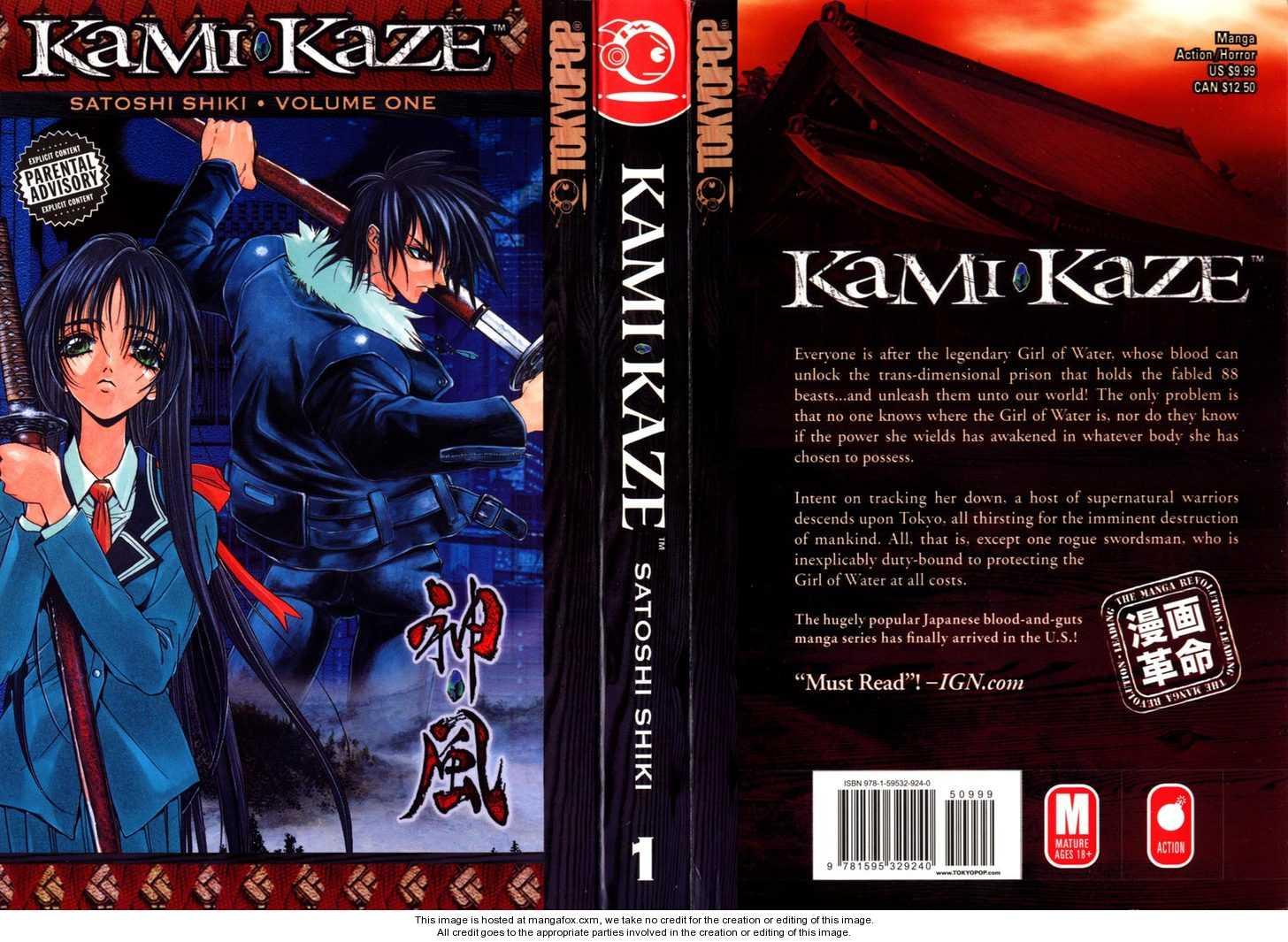 Kamikaze 1 Page 1