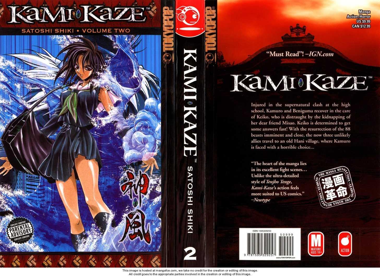 Kamikaze 8 Page 1