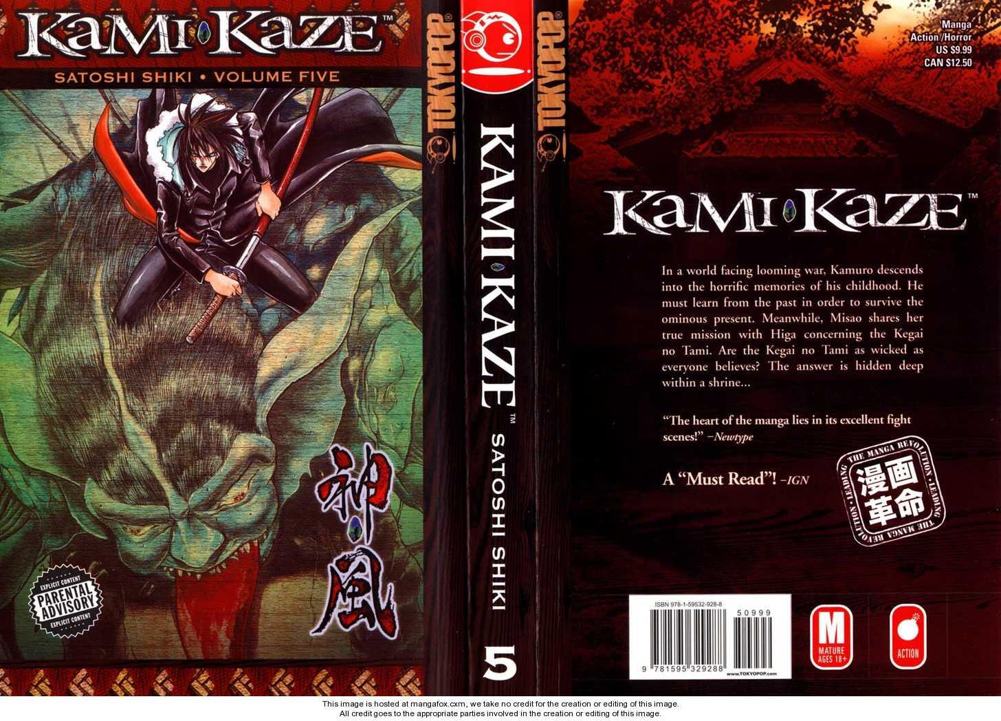 Kamikaze 38 Page 1
