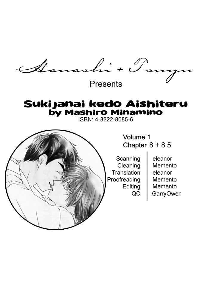 Sukijanai kedo Aishiteru 8 Page 1