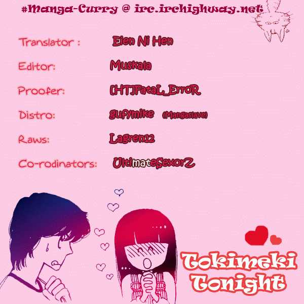 Tokimeki Tonight 3.2 Page 1